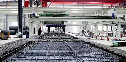 輕質隔墻板機設備